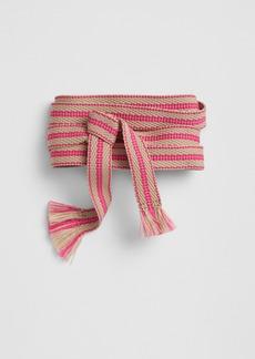 Gap Woven Stripe Tie-Belt