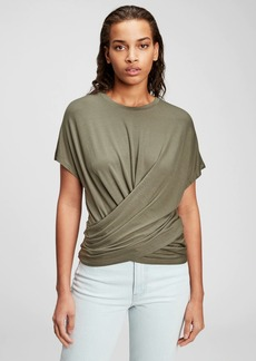 Gap Wrap T-Shirt in Modal