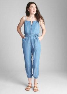 Gap Zip-Front Cami Jumpsuit in TENCEL&#153