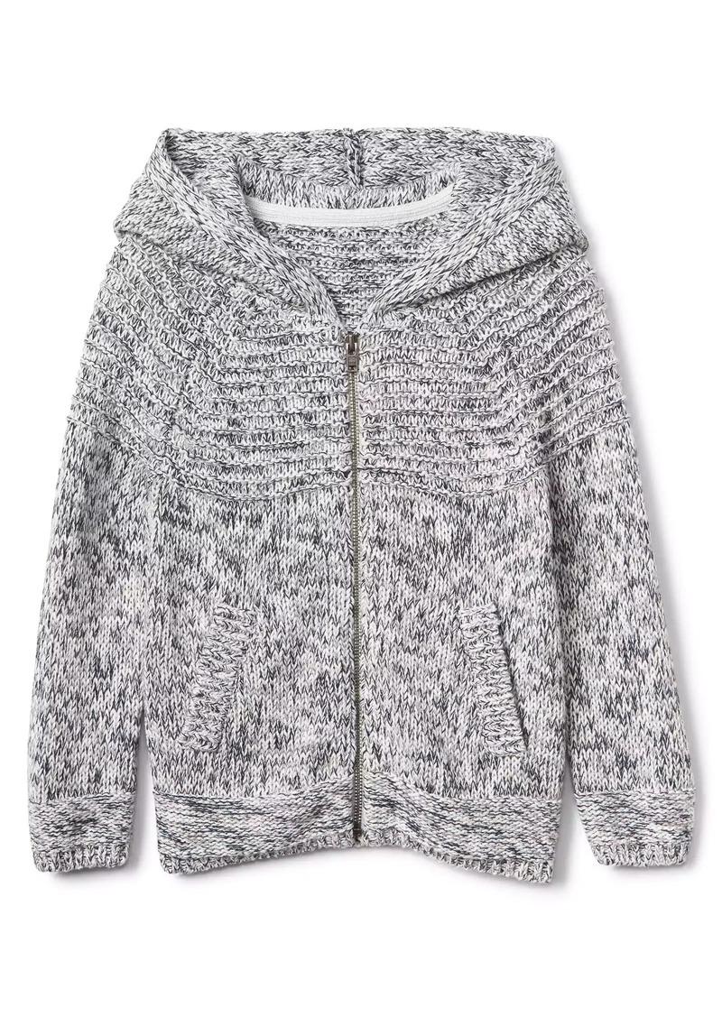 Gap Zip Textured Sweatshirt