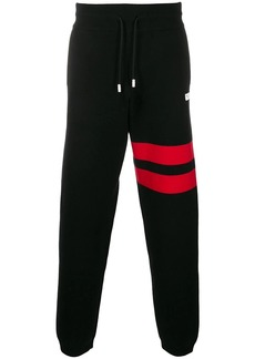 GCDS contrast band track pants