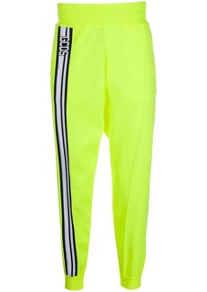 GCDS front logo stripe joggers
