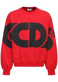 GCDS Huge Cotton Sweatshirt