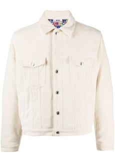 GCDS logo-lining shirt jacket