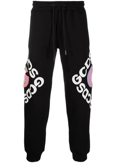 GCDS logo print track pants