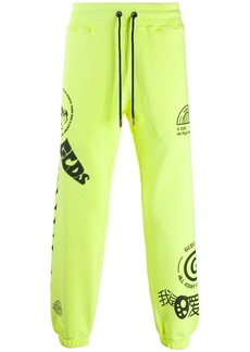 GCDS logo-print track pants