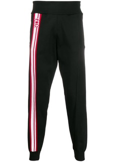 GCDS logo track trousers