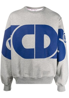 GCDS oversized logo sweatshirt