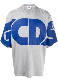 GCDS oversized logo T-shirt