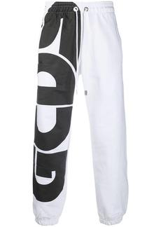 GCDS oversized-logo track pants