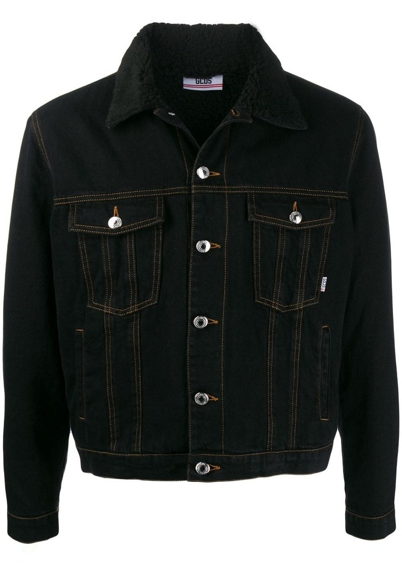 GCDS slim-fit denim jacket