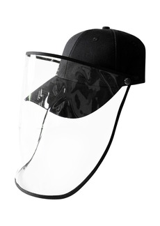 GEMELLI Baseball Cap with Removable Face Shield