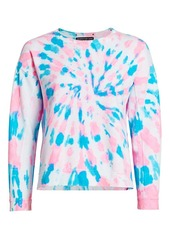 Generation Love Carter Star Studded Tie-Dye Sweatshirt