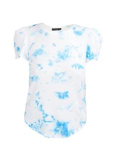 Generation Love Kelly Tie-Dye Puff-Sleeve T-Shirt