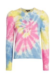 Generation Love Tyrell Tie-Dye Puff-Sleeve Sweater