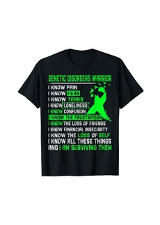 Genetic Denim Genetic Disorders Warrior Shirt For Women Men
