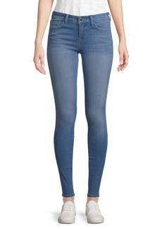 Genetic Denim Birkin High-Rise Distressed Cropped Jeans