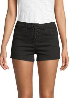Genetic Denim Monroe High-Waist Denim Shorts
