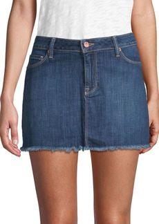 Genetic Denim Lyndsay Mid-Rise Denim Skirt