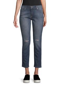Genetic Denim Shane Faux Front Skinny Jeans