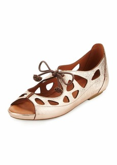 Gentle Souls Brynn Leather Lace-Up Sandals