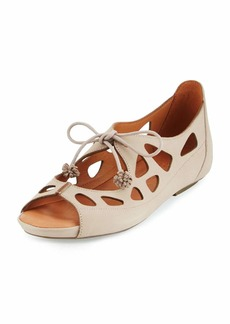 Gentle Souls Brynn Nubuck Lace-Up Sandals