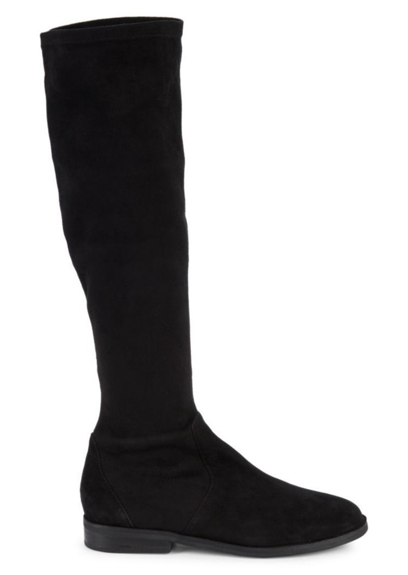 Gentle Souls Emma Stretch Suede Knee Boots