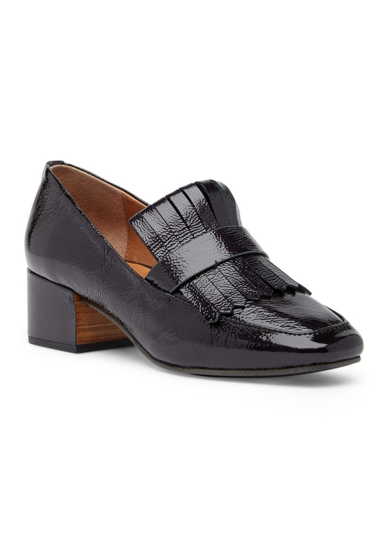 Gentle Souls Ethan Block Heel Leather Loafer
