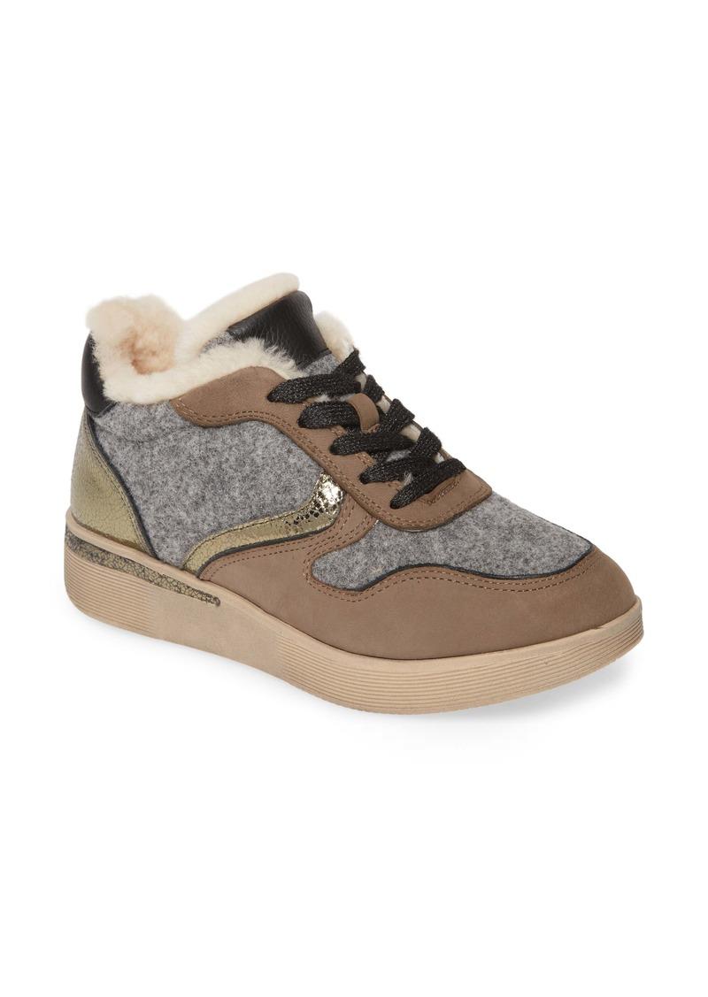 Gentle Souls by Kenneth Cole Haddie Genuine Shearling Lined Sneaker Boot (Women)