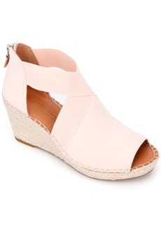 Gentle Souls by Kenneth Cole Charli Cross Elastic Wedge Sandals Women's Shoes