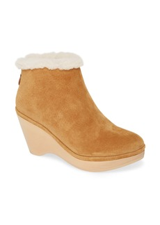 Gentle Souls by Kenneth Cole Skylar Genuine Shearling Cuff Bootie (Women)