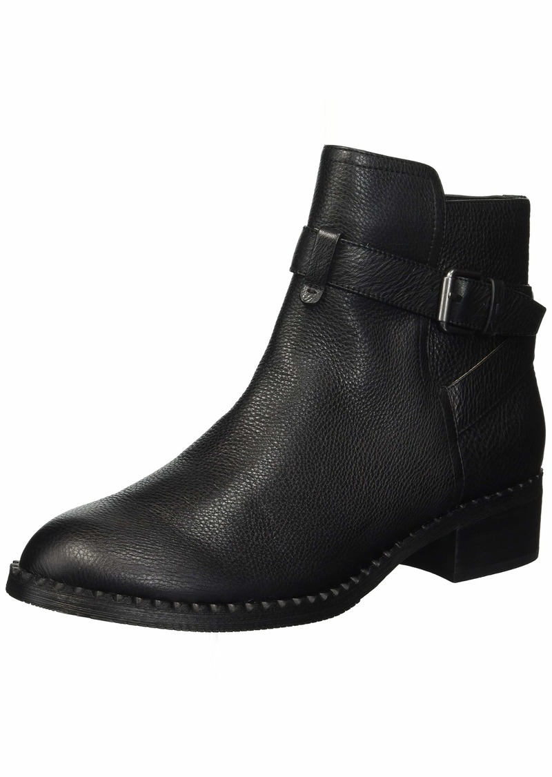 Gentle Souls by Kenneth Cole Women's Best Moto Buckle Strap Bootie Boot black  M US