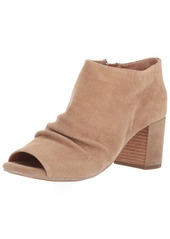 Gentle Souls by Kenneth Cole Women's CAMELIA PEEP TOE BOOTIE WITH RUCHED VAMP Boot