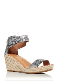 Gentle Souls by Kenneth Cole Women's Charli Espadrille Wedge Sandals - 100% Exclusive