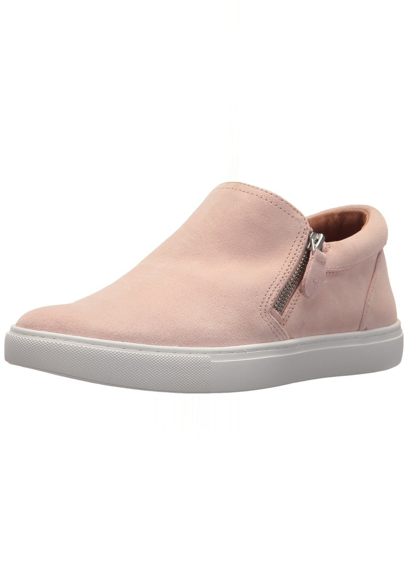 Gentle Souls by Kenneth Cole Women's Lowe Double Zip Low Profile Sneaker Shoe rose