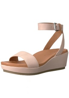 Gentle Souls by Kenneth Cole Women's Morrie Wedge Sandal BLUSH