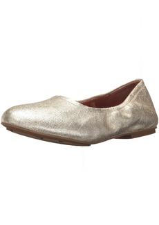 71970e08277 Gentle Souls by Kenneth Cole Women s Portia Ballet Flat Shoe soft gold