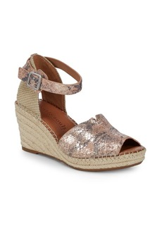 Gentle Souls Charli Wedge Sandals
