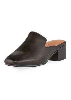 Gentle Souls Eida Leather Block-Heel Mule