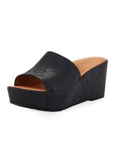Gentle Souls Forella Rose Wedge Platform Sandal