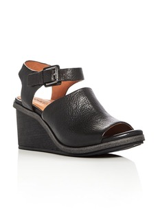 Gentle Souls Gerry Leather Wedge Sandals