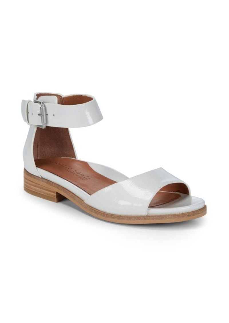 Gentle Souls Gracey Leather Ankle-Strap Sandals