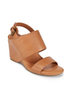 Gentle Souls Inka Leather Wedge Sandals