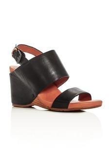 Gentle Souls Inka Slingback Wedge Sandals