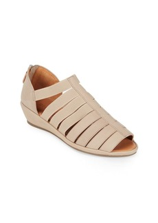 Gentle Souls Lana Leather Wedge Sandals