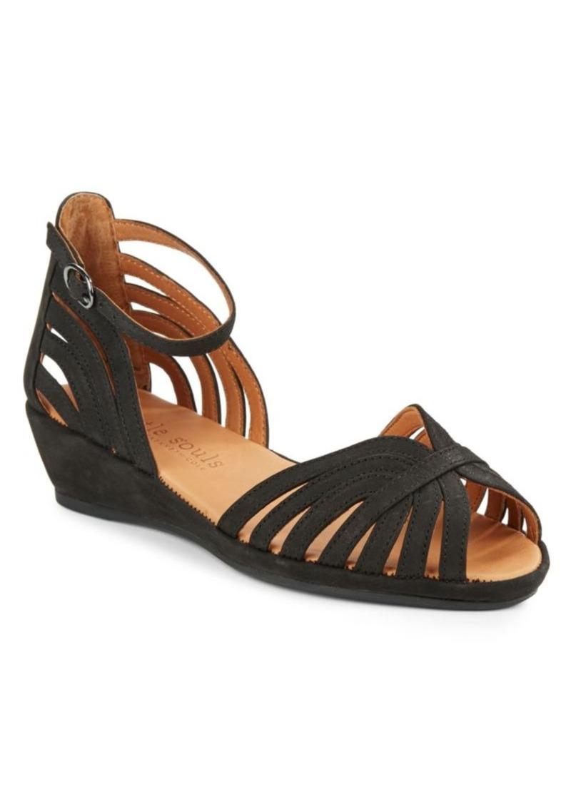 gentle souls gentle souls wedge sandals shoes