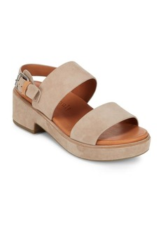 Gentle Souls Talia Leather Slingback Sandals