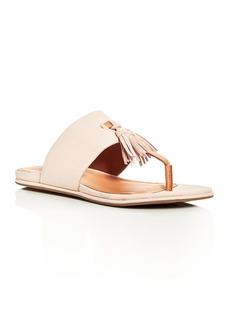 Gentle Souls Ottie Tassel Thong Sandals