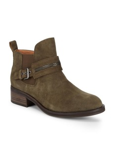Gentle Souls Round Toe Leather Booties