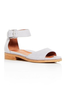 Gentle Souls Women's Gracey Suede Ankle Strap Sandals